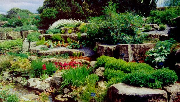 Создание рокария каменистого сада